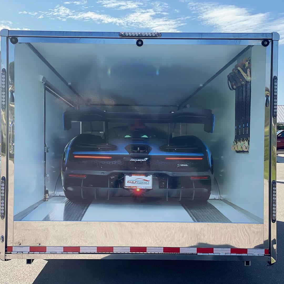 Custom Designed Cargo Trailer Wrap