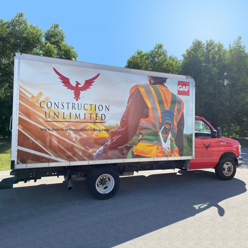 Construction Unlimited Box Truck