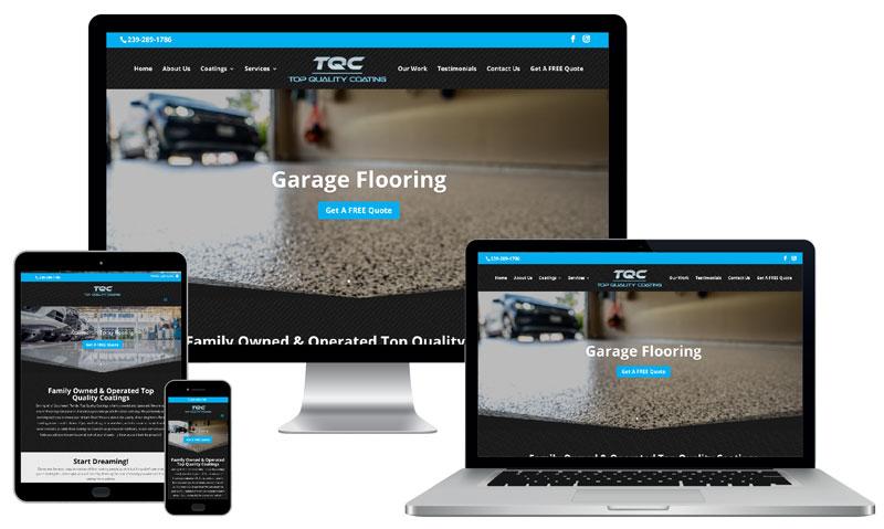 Top Quality Coatings Website Development